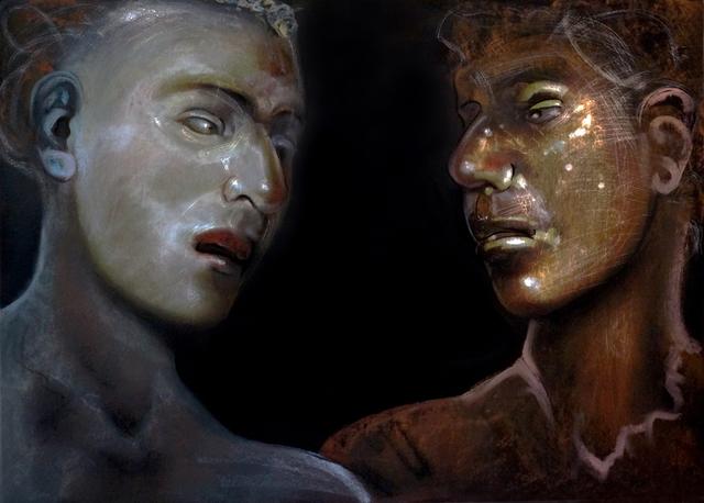 , 'Lovers Series No.18,' 2017-2018, Charles Nodrum Gallery