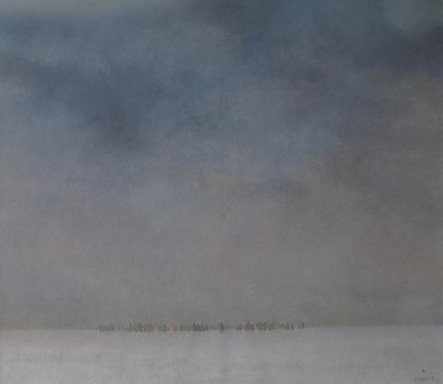 """, '""""Winter Field"""" / """"Kış Kırsalı"""",' 2011, Galeri 77"""
