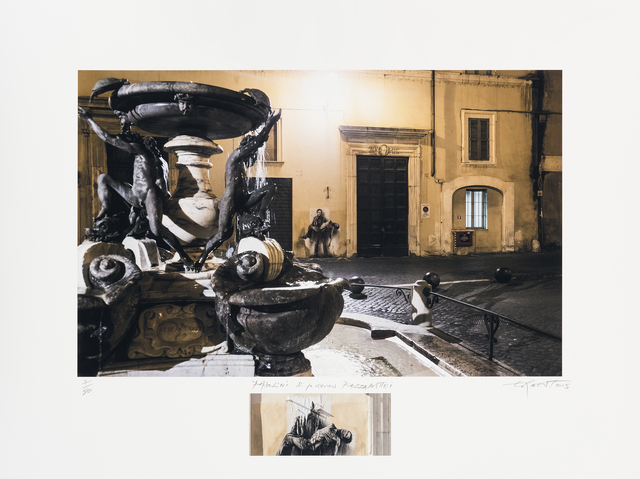 , 'Pasolini. Si je reviens, Piazza Mattei,' 2015, Galerie Lelong & Co.
