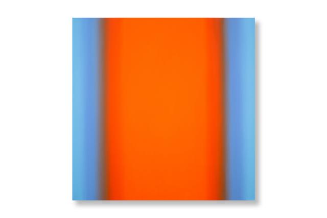 , 'Inevitability of Truth 7-S4848 Square (Blue Orange/Orange Deep),' 2015, Ochi Projects