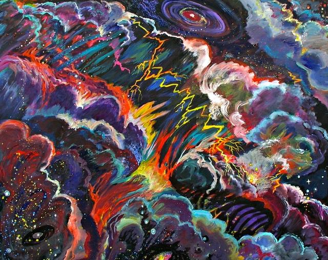 , 'Stellar Storm,' 2012, Alpha 137 Gallery