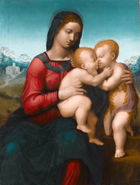 , 'Virgin and Child with the Infant Saint John,' ca. 1515, M.S. Rau Antiques