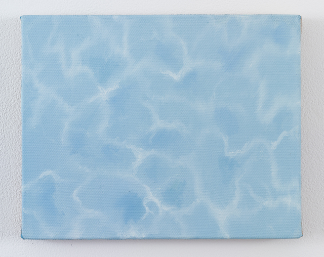 , 'Pale pool,' 2017, James Fuentes