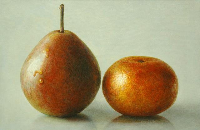, 'Pear and Tangerine,' , Beth Urdang Gallery