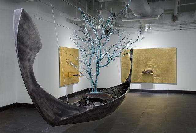, 'Absence/Presence (Enguri River),' 2014, International Sculpture Center