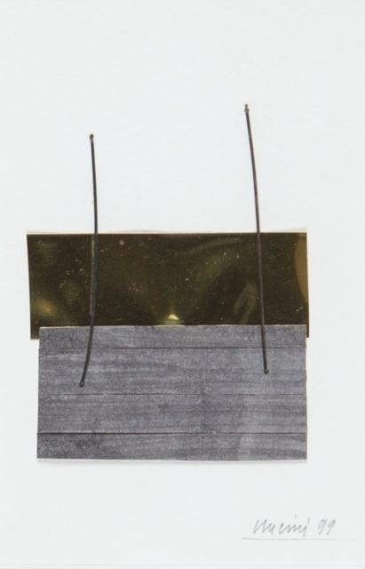 Giuseppe Uncini, 'Untitled', 1999, Aste Boetto