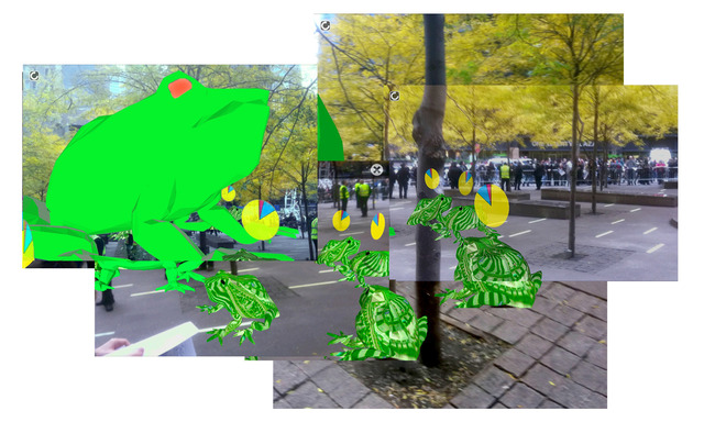 , 'OWS Bufo Protest @ Zucotti Park,' 2011, Kasa Galeri