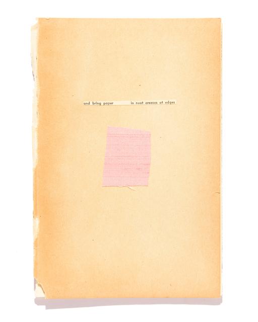 , 'Page 5,' 2017, Gemini G.E.L.