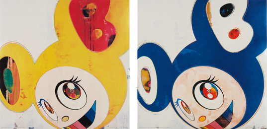 Takashi Murakami, 'And Then, and then and then and then and then / Yellow Jelly; And Then, and then and then and then and then / Original Blue,' 2006, Phillips: Evening and Day Editions (October 2016)