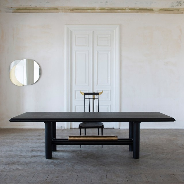 , 'Gold Beam Dining Table,' 2017, The Future Perfect