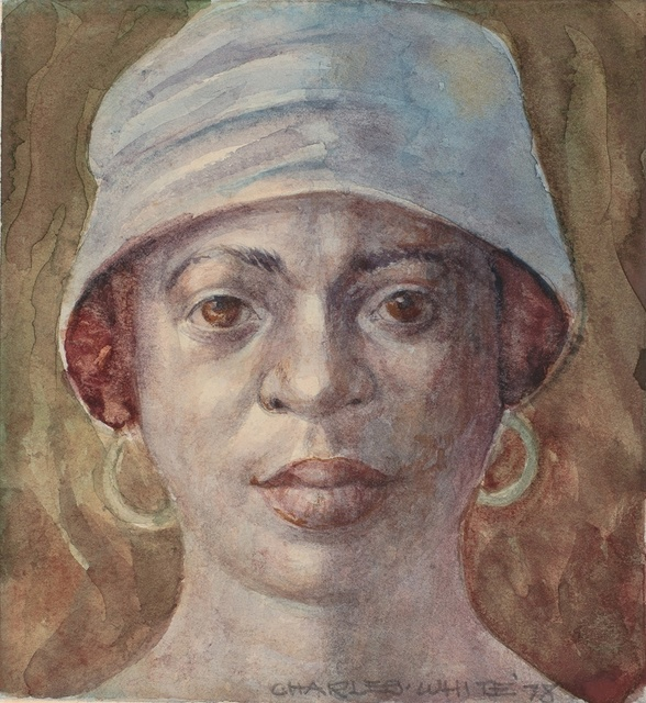 , 'Woman with Hat,' 1978, Dolan/Maxwell