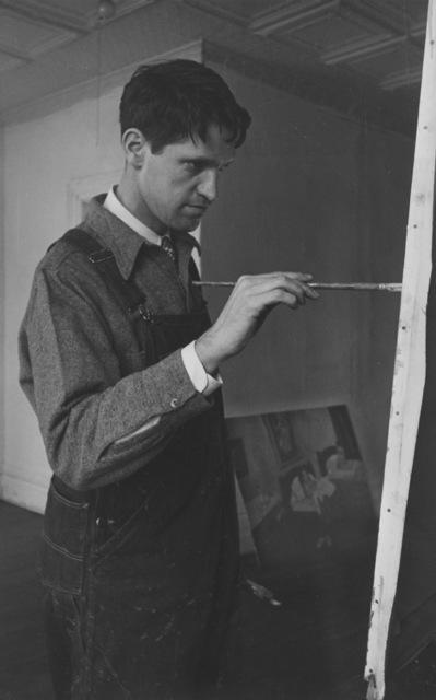 Ellen Auerbach, 'Fairfield Porter', 1944, Robert Mann Gallery