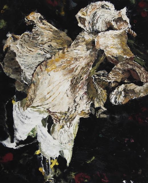 Philippe Cognée, 'White Amaryllis 2', 2019, Templon