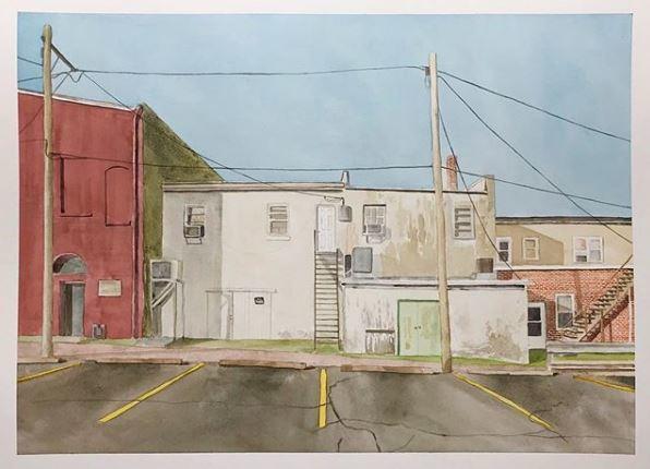 , 'Alley View,' 2018, Burnet Fine Art & Advisory