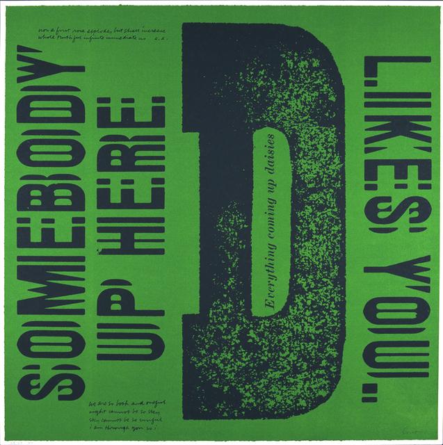 Corita Kent, 'D everything coming up daisies', 1968, Kantor Gallery