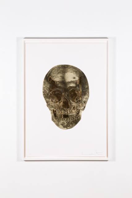 Damien Hirst, 'Death or Glory – Glorius Skull (Cool Gold – European Gold)', 2011, Art Mûr