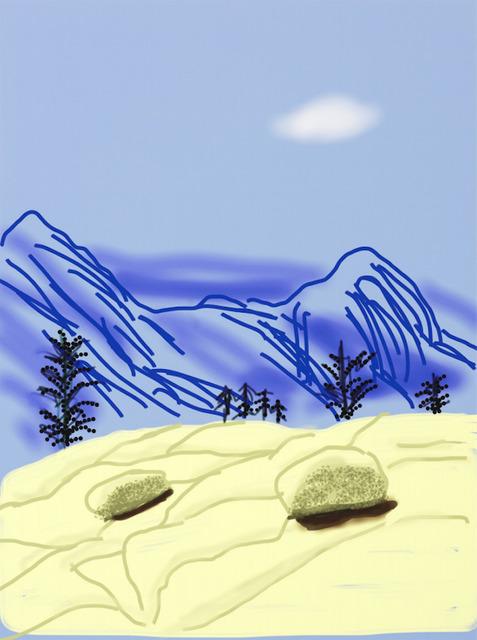 David Hockney, 'Yosemite Suite No.18', 2010, Dallas Collectors Club