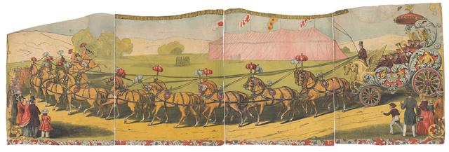 'Circus Poster', 1850-1855, RISD Museum