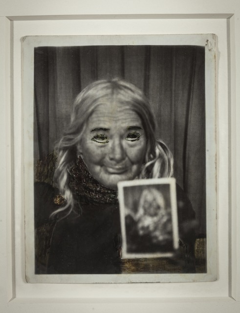 , 'A girl with roses in the shadows,' 1970, Intuit: The Center for Intuitive and Outsider Art