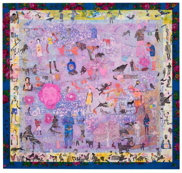 , 'la Tete Rose,' 2016, Sulger-Buel Lovell