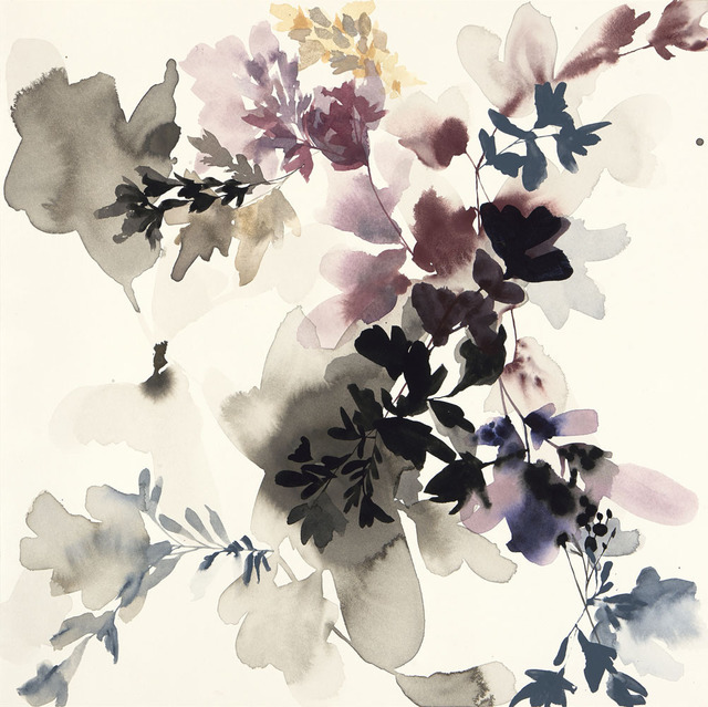 , 'Wildflower Study Lilac and Smoke 2,' 2018, Wally Workman Gallery