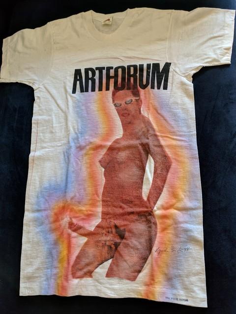 Lynda Benglis, 'Artforum T-Shirt', 1974, moCa Cleveland: Benefit Auction 2019