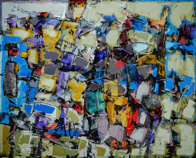 , 'Une foule en train de se métamorphoser en oiseaux,' , Simard Bilodeau Contemporary
