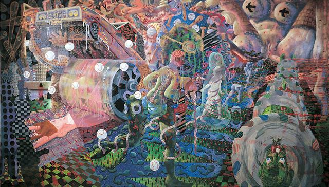 Tom Torluemke, 'Louie Will Slug Her', 1999, Linda Warren Projects