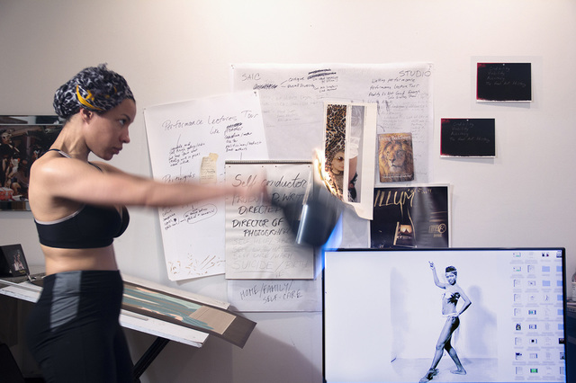 , 'Credibility, Viability, Accuracy/Maya Angelou as a Sex Worker/Can't Knock the Hustle,' 2016, Artadia