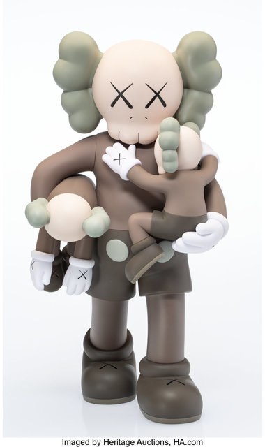 KAWS, 'Clean Slate (Brown)', 2018, Heritage Auctions