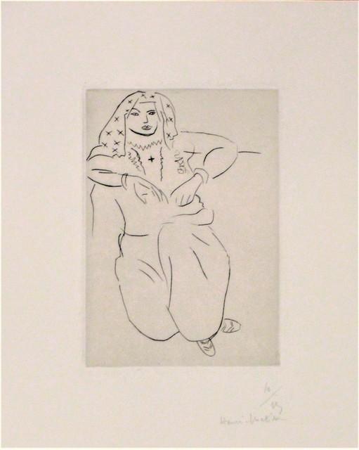 , 'Orientale Assise, Voile sur la Tête,' 1929, michael lisi / contemporary art