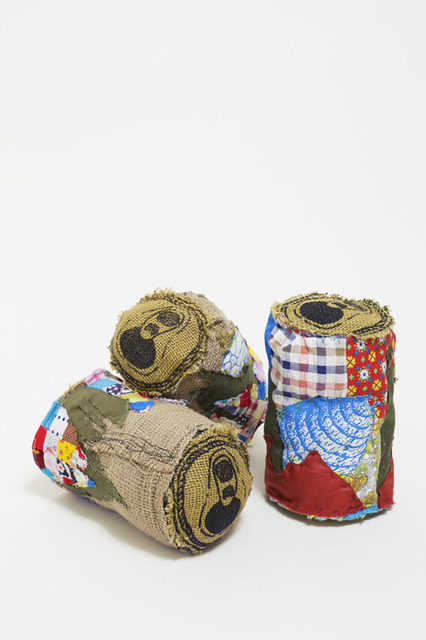 , 'Burlap Beer Landscape,' , Dab Art