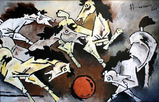 , 'Horses,' 2001, Aicon Gallery