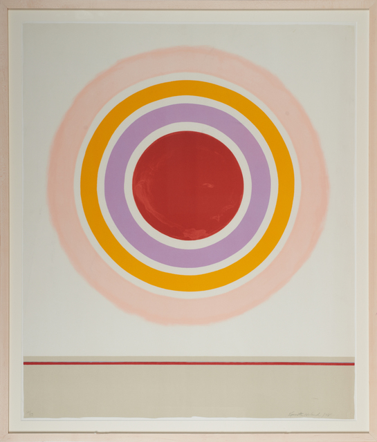 Kenneth Noland, 'Blush', 1978, Rago