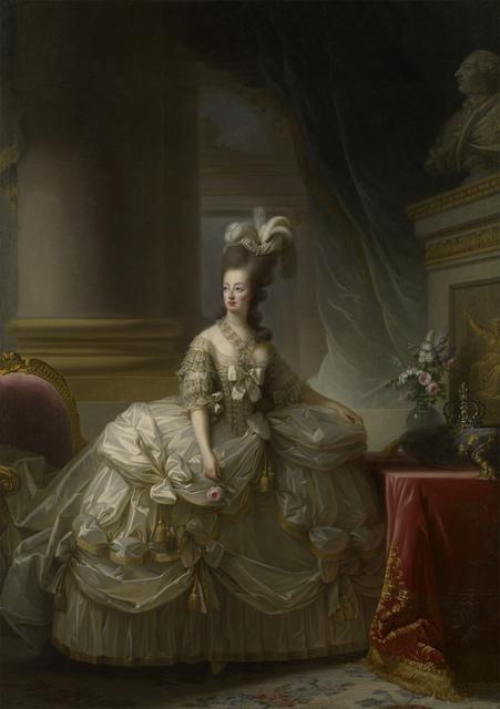 , 'Marie Antoinette in a Court Dress,' 1778, RMN Grand Palais