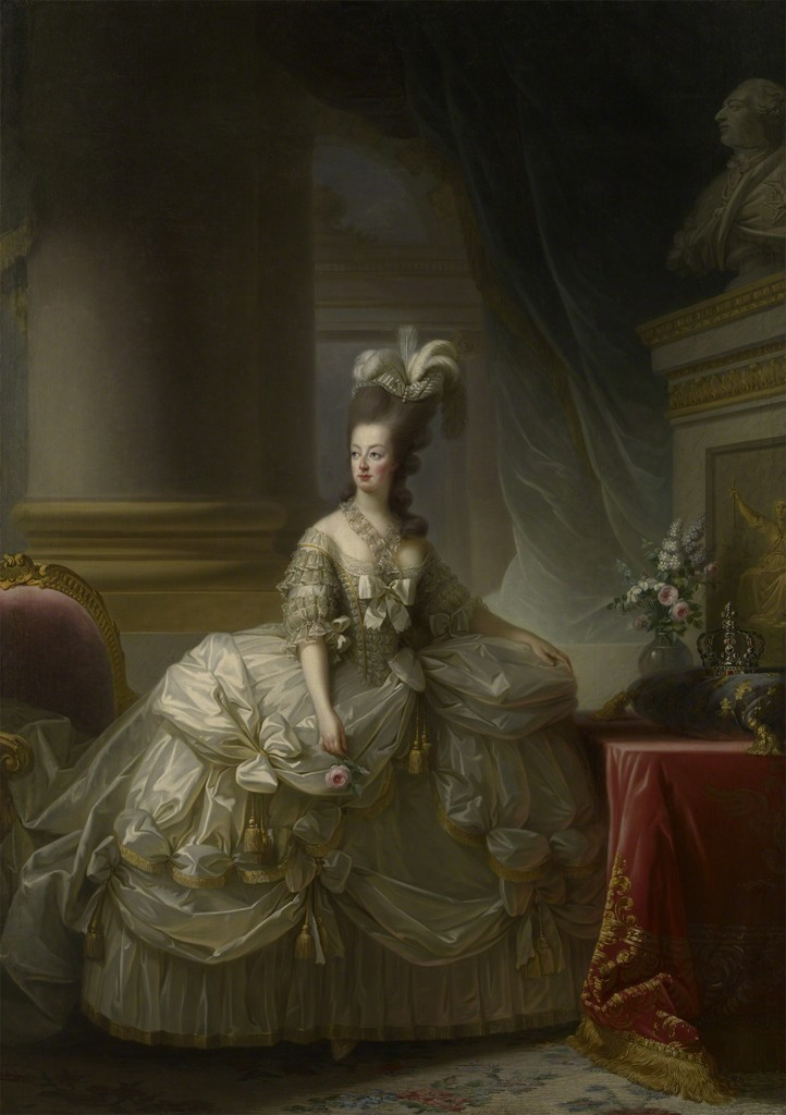 Marie Antoinette in a Court Dress
