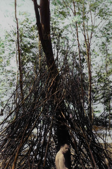 Youssef Nabil, 'Feels like Home, Self-portrait, Paris 2004 ', 2004, Galerie Nathalie Obadia