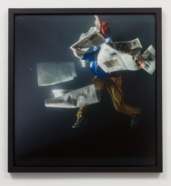 , 'Holoscenes / Newspaper, Toronto, 03:24,' 2018, Charlie James Gallery