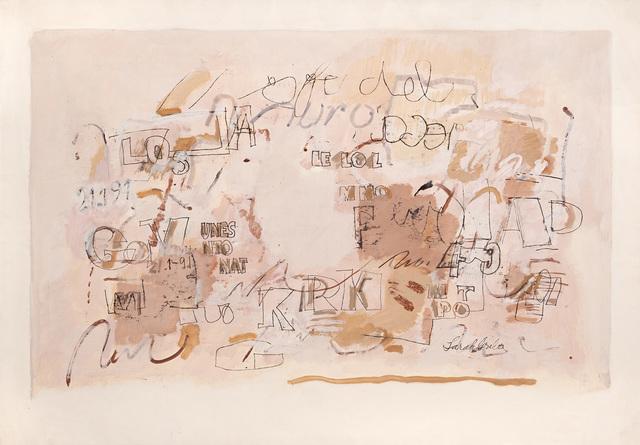 , 'Untitled,' 1991, Galerie Lelong & Co.