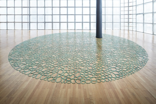 , 'Rubber Band Carpet,' 2015, White Space Beijing