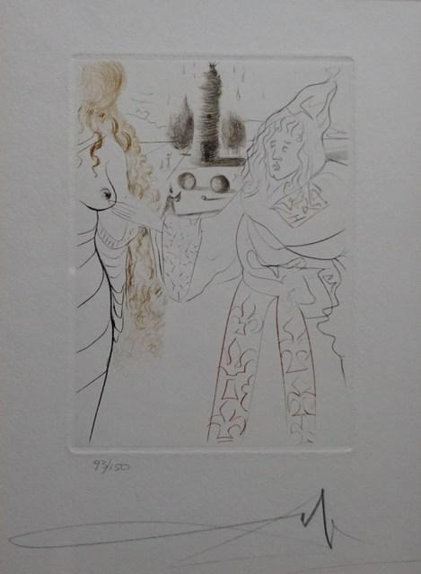 Salvador Dalí, 'Le Decameron La Femme Adultere', 1972, Print, Etching, Fine Art Acquisitions Dali