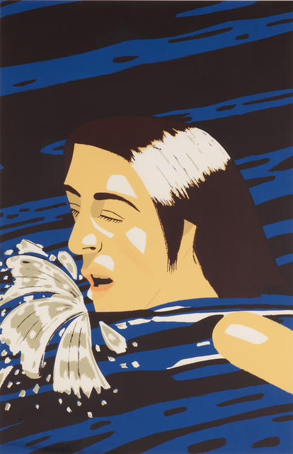 Alex Katz, 'Swimmer', 1976, Rago/Wright
