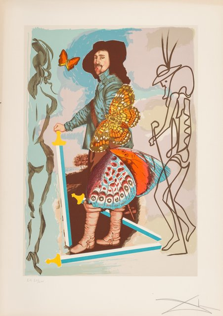 Salvador Dalí, 'Courtier, from Papillions Anciennes', 1977, Heritage Auctions