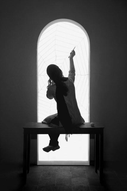 Shadi Ghadirian, 'Miss Butterfly #2', 2011, Officine dell'Immagine