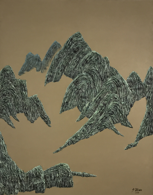 , '山水 4; Mountains, No.4,' 2010, Linda Gallery