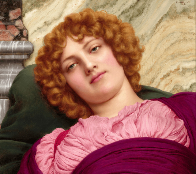 John William Godward, 'Myrhinna', 1915,  M.S. Rau