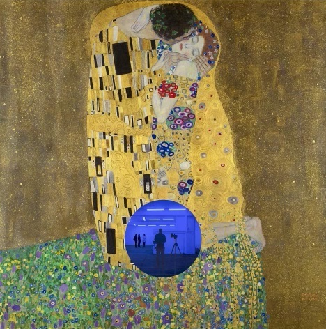 Jeff Koons, 'Gazing Ball (Klimt Kiss), 2019', 2019, Eternity Gallery