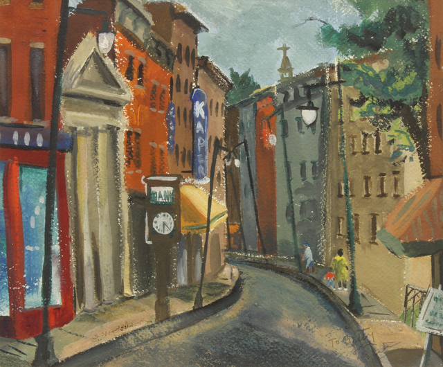 , 'Twenty Two After,' Painted prior to1943, Addison Rowe Gallery