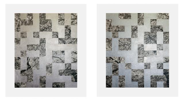 , 'Cherry Tree Grid 002 (diptych),' 2015, James Harris Gallery