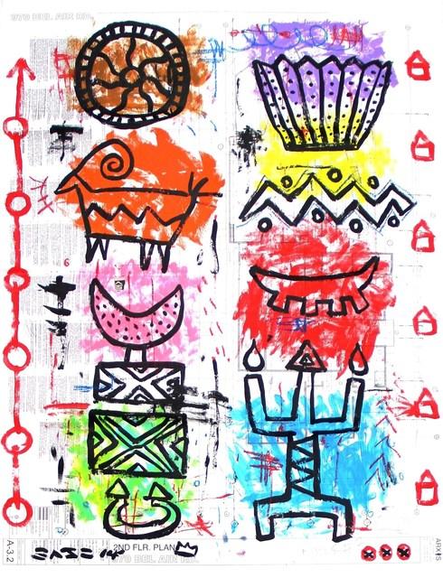 Gary John, 'Bel Air Tribes', 2014, Artspace Warehouse